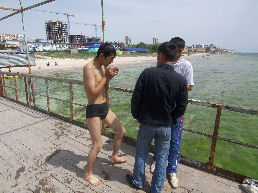 After_swimming_caspian_sea_4