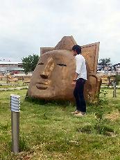 Shimkent_face_monument_11