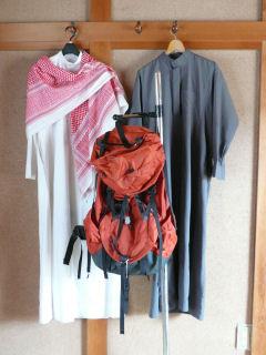 Kanduras_and_backpack